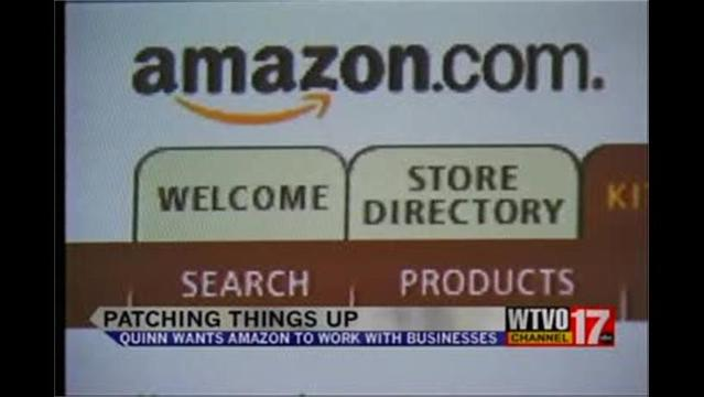 Quinn Wants Amazon to Make Amends