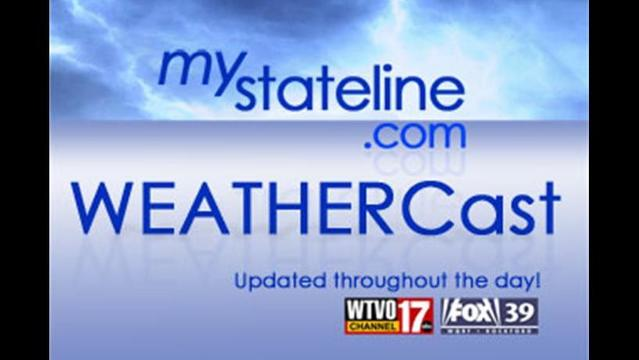 Your WEATHERCast for Tuesday