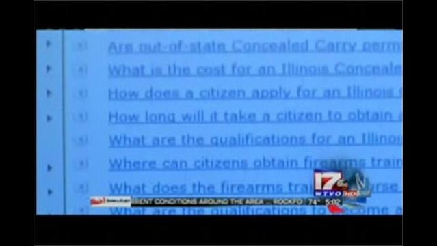 Concealed Carry Questions Being Answered Online by Illinois State Police