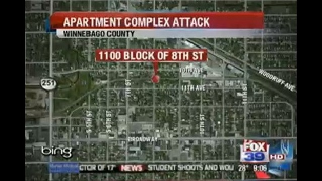 Rockford Apartment Complex Falls Prey to Two Attacks