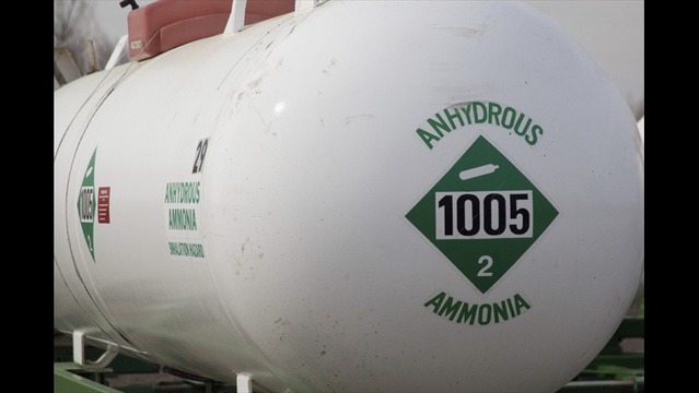 DEVELOPING: Anhydrous Ammonia Tanks Flip Over In Mid-Transit