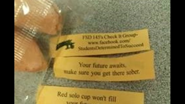Freeport High Uses Fortune Cookies to Deliver Unique Messages
