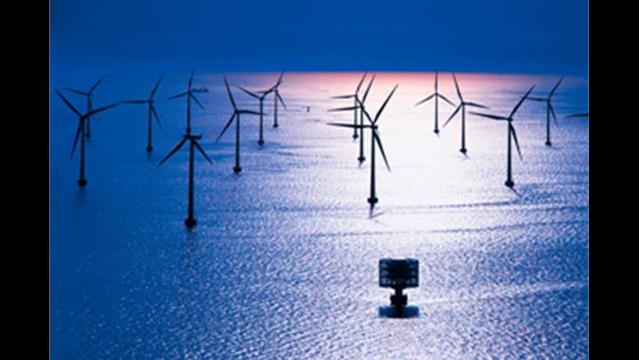 UK's mega offshore wind farm makes waves