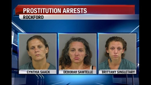 Rockford Street Crimes Unit Conducts Another Undercover Prostitution Sting