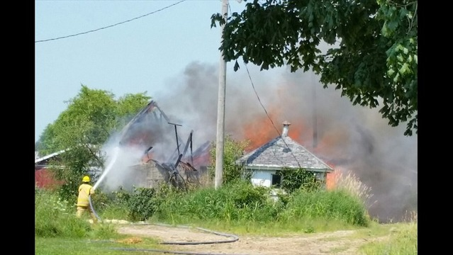 DEVELOPING: Several Departments Battling Structure Fire