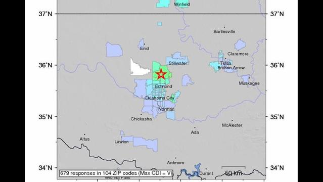4.2 earthquake in Oklahoma triggered by gas injection wells?