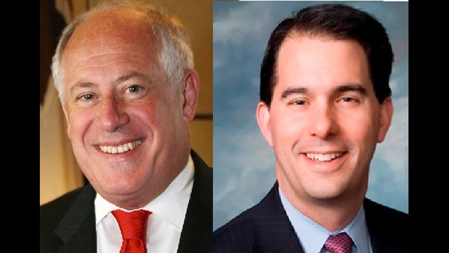 Analysis:  Campaigns for former Gov. Quinn and Gov. Walker Received Large Amounts of Outside Cash