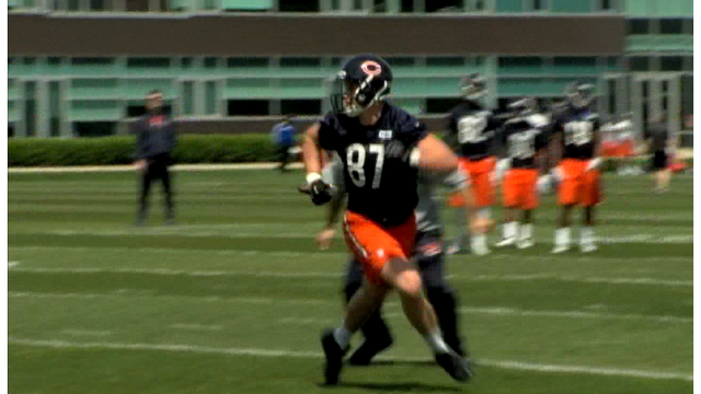 Bears Tight End Shaheen As Big As Advertised