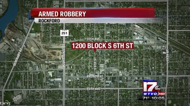 Rockford Residents Robbed at Gunpoint On 6th Street