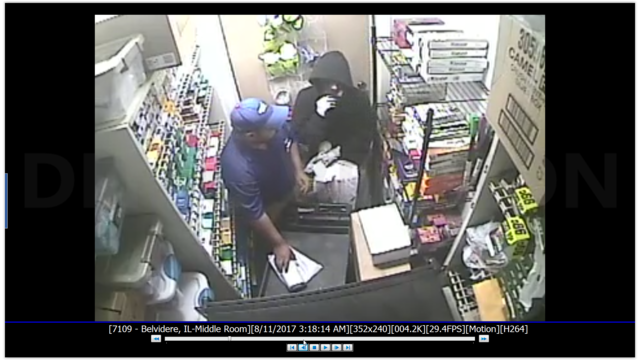 Belvidere Gas Station Robbed, Clerk Attacked