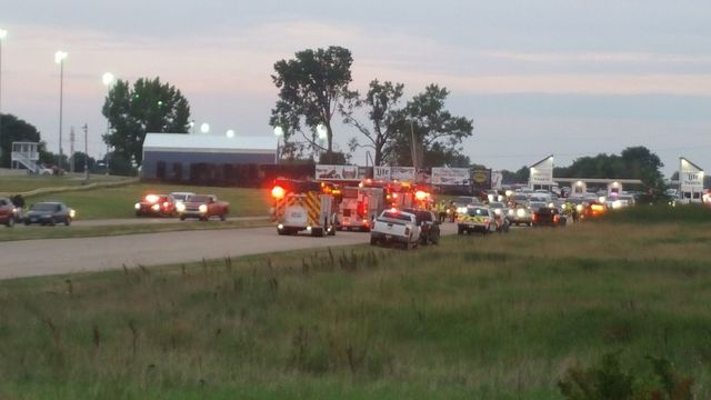 3 shot at Great Lakes Dragaway in Wisconsin