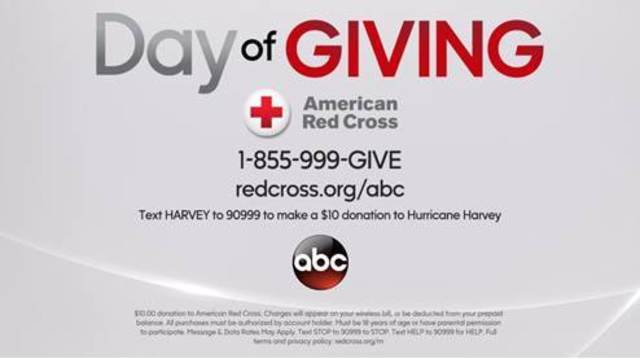 Help Support Hurricane Harvey Victims with Disney, ABC and the American Red Cross