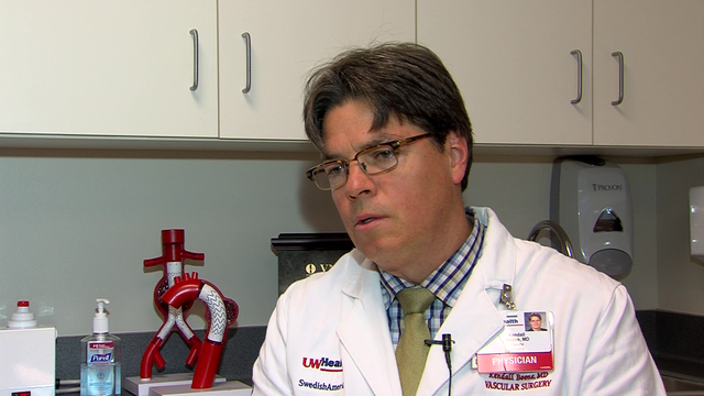 Rockford Surgeon Shares Insights On Miller's Surgery.