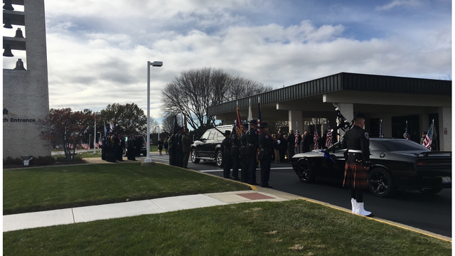 Rockford Police Officer Killed in Line of Duty Laid to Rest Saturday
