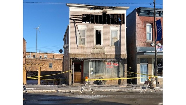 Firefighter Injured in Tuesday Morning Fire at Genoa Hair Salon