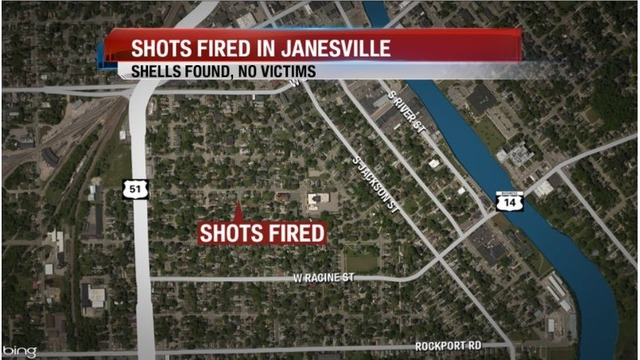 Shell Casings Found but No Victims in Janesville Shooting