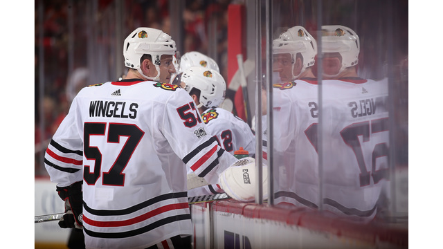 Bruins acquire forward Wingels from Blackhawks