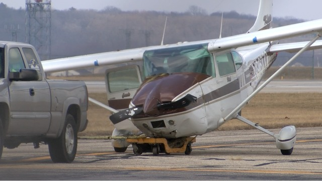 Small Plane Crashes at Chicago-Rockford International Airport