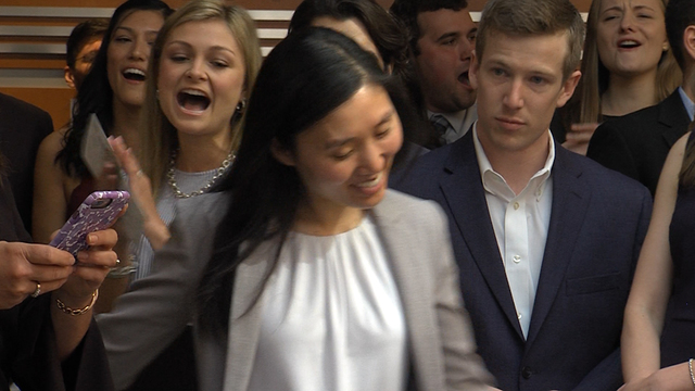 UF medical students celebrate