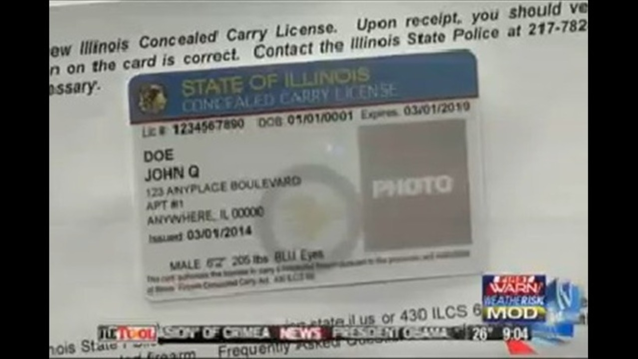 Concealed Carry Permits Approved, Ready to be Printed and Mailed