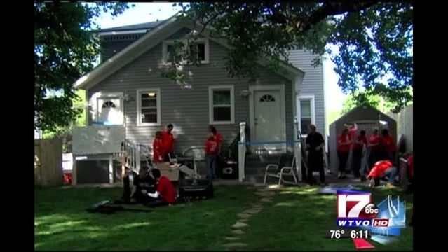 Rockford Veteran And Family Receive Renovated Home