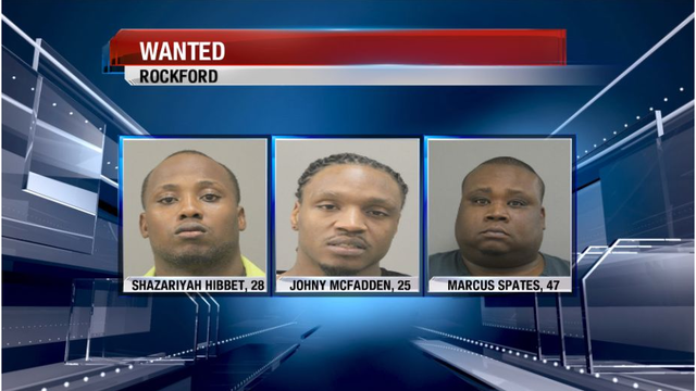 3 Men Wanted for 2 Rockford Murders, 4th Arrested for Drug Induced Homicide