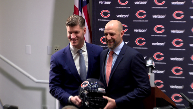 Nagy, Pace Excited To Team Up With Bears