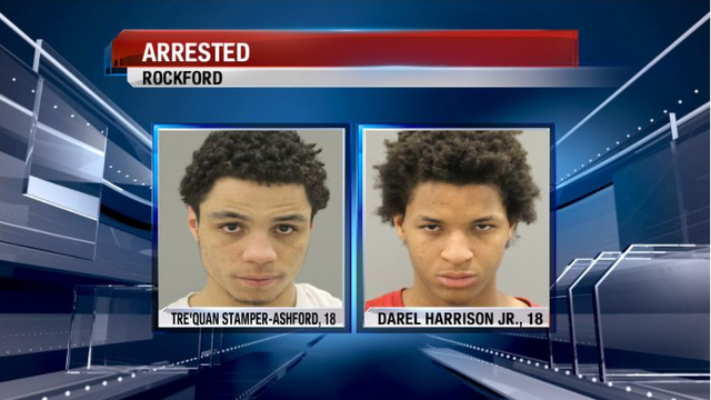 Three Rockford Teenagers Arrested for Stealing Car, Fourth at Large