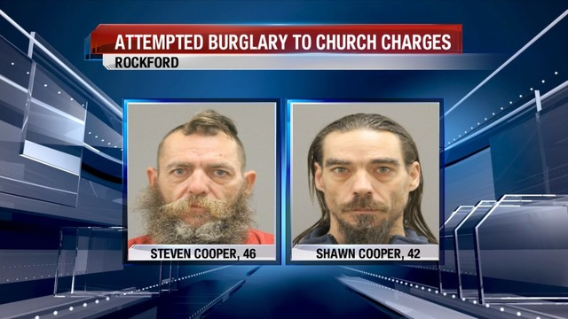 Two Men Charged for Attempted Burglary of Rockford Church