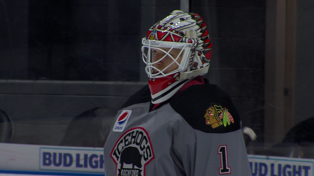 IceHogs' Delia AHL's Player Of The Week