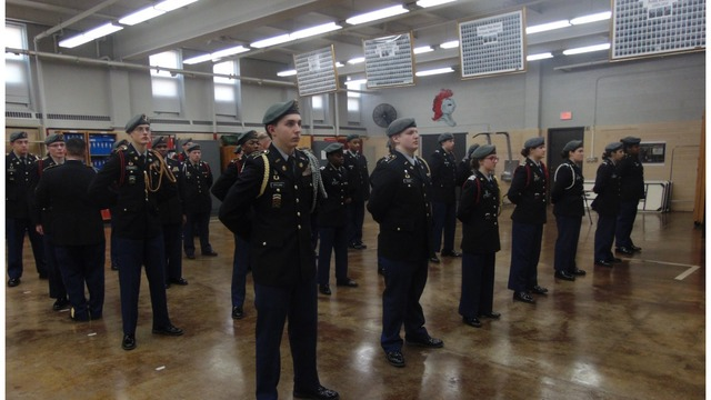 Auburn High School's JROTC Unit Earns Highest Honor