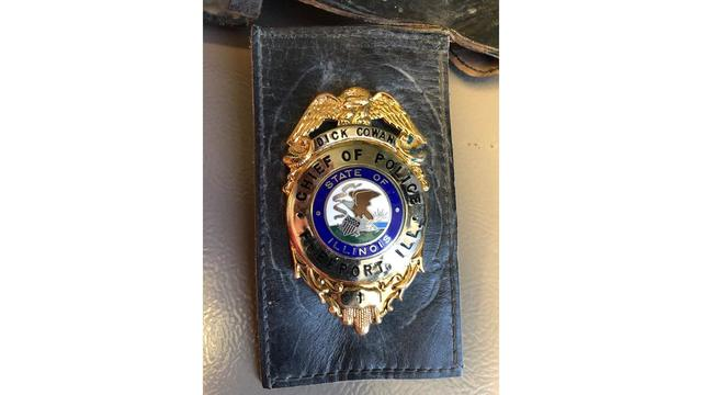 Former Police Chief's Badge, ID Returned
