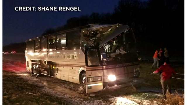 Bus Carrying Highland Community College's Women's Basketball Team Crashes