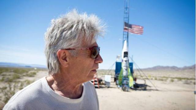 Self-taught rocket scientist finally blasts off into California sky