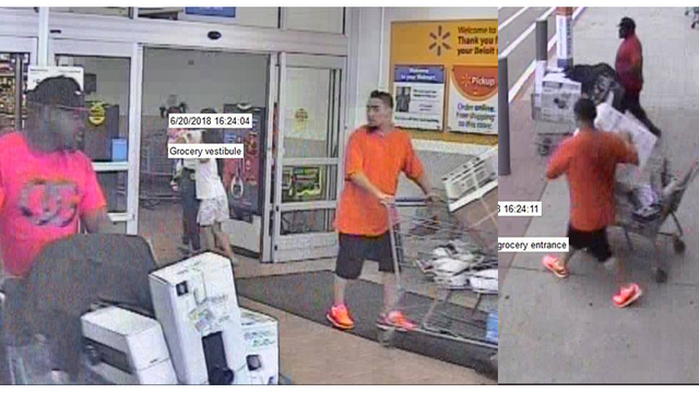 Suspects wanted for theft of items from local Walmart