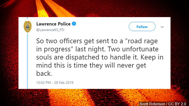 Police in Kansas share the 'most ridiculous call of 2019 (so far)'