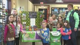 Poplar Grove Girl Scout troop sends cookies to military