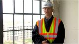Project leaders show off future Embassy Suites hotel's progress