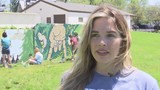 Rockford middle schoolers brighten Rockford neighborhood with murals